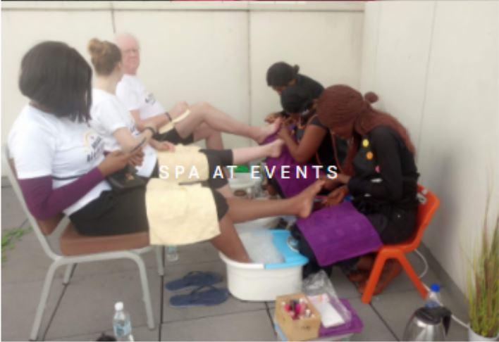 Mobile Spa Event