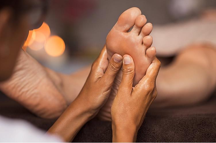 Mobile Spa foot reflexology